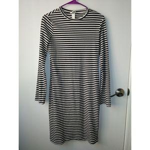 Stripe Longsleeve dress